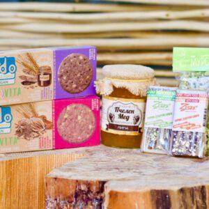 Bioset BulBox 8 - Kombination aus natürlichen bulgarischen Produkten
