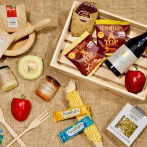 BulBox classic balance Die BulBox classic ist für alle Liebhaber geeignet, die traditionelle bulgarische Leckereien lieben oder noch nicht die Vielfalt der bulgarischen Küche entdeckt haben.
