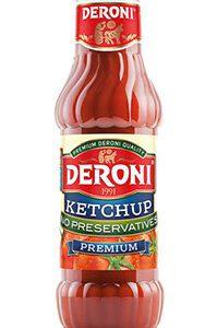 Ketchup Premium Deroni ohne Konservierungsstoffe