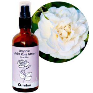 Bio-Hydrolat-Rosenwasser Weiße Rose Rose Alba, 50/100/250/500 ml 1