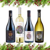 Gourmet-Weinbox 4er Set zu Weihnachten 2020 ✨ (limitiert)