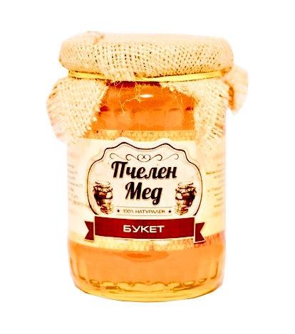 Bienenhonig 7 Bulgarischer Balkan Kräuter Naturhonig, 400-700 g hat natürlich eine Vielzahl wertvoller ernährungsphysiologischer und medizinischer Eigenschaften