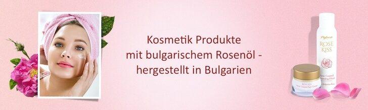 bulgarische Rose 5 Neben der Anwendung der bulgarischen Rose als Heilmittel wird die Rosa Damascena selbstverständlich in der Kosmetik verwendet.