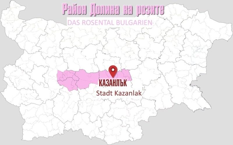 bulgarische Rose 2 Das sogennante bulgarische Rosental oder Tal der Rosen (auf bulgarisch