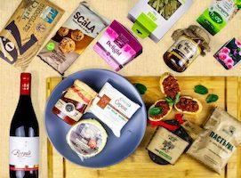 Weihnachten und Silvester Bulgaria Store BulBox Weihnachtsbox Foodbox Geschenkbox 1