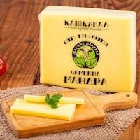 Balkan Schittkäase aus Kuhmilch Kaschkawal gelber bulgarischer Käse