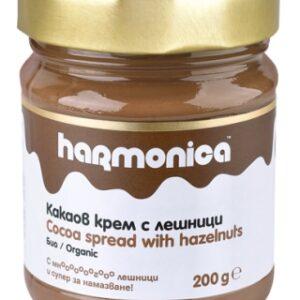 Bio-Kakaocreme mit Haselnüssen